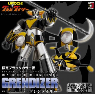 UFO Robot Grendizer Black Color Ver. Dynamite Action No 19 Evolution Toy Limited Edition