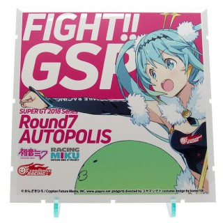 Dioramansion 150 Racing Miku 2018 Ver. Pit Optional Panel Rd.7 AUTOPOLIS PLM