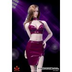 Sexy Costume Jujube Red ATX-048F DOLL ACCESSORY 1/6 ACPLAY