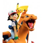 G.E.M. Series Pokemon Ash Ketchum And Pikachu And Charizard MegaHouse