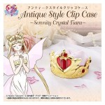 Sailor Moon Antique Style Clip Case Serenity Crystal Tiara Bandai Limited