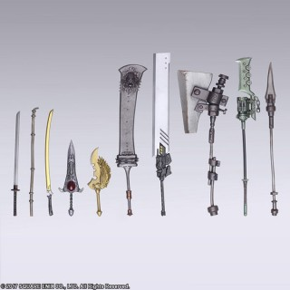 NieR: Automata BRING ARTS Trading Weapon CollectionBox of 10 Square Enix