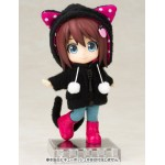 Cu-poche Extra Animal Parka Set Black Cat Kotobukiya