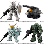 Mobile Suit Gundam MOBILE SUIT ENSEMBLE 1.5 BOX Of 10 Bandai