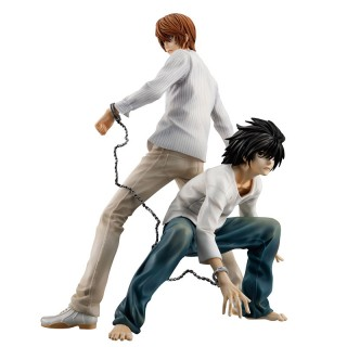 G.E.M. Series Death Note Light Yagami And L MegaHouse Limited