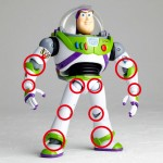 Legacy of Revoltech TOY STORY Buzz Lightyear Renewed Package Design Version Kaiyodo