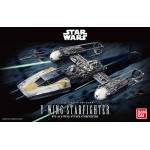 Star wars Y-Wing Starfighter 1/72 Model kit Bandai