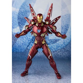 S.H. Figuarts Iron Man Mark 50 Nano Weapon Set 2 Avengers End Game BANDAI SPIRITS (Proxy Service*)