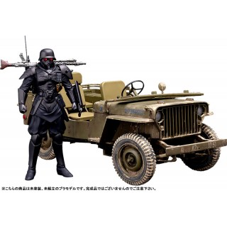 PLAMAX MF-35 minimum factory Akai Megane PROTECT GEAR with Special Investigations Unit Patrol Vehicle 1/20 Max Factory