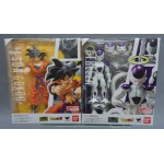 S.H. Figuarts Dragon Ball Set Frieza Final Form & Songoku Grown on Earth Bandai