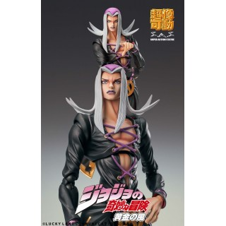 Super Action Statue JoJo's Bizarre Adventure Part.5 Leone Abbacchio Medicos Entertainment