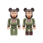 BEARBRICK Cornelius And Zira 2PACK PLANET OF THE APES Medicom Toy