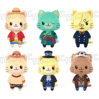 ONE PIECE withCAT Box of 6 Movic