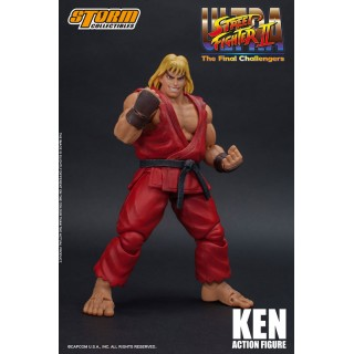 Ultra Street Fighter Ii The Final Challengers Action Figure Ken