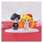 Sailor Moon Petit Chara Happy Wedding Shiromuku ver. Megahouse