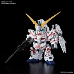 SD Gundam Cross Silhouette Unicorn Gundam Destroy Mode Plastic Model Kit BANDAI SPIRITS