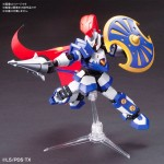 Hyperfunction LBX Achilles Plastic Model Cardboard Fighter Plane BANDAI SPIRITS