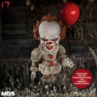 Designer Series IT Pennywise 6Inch Deluxe Action Figure Mezco