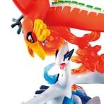 G.E.M. EX Series Pokemon Ho-Oh And Lugia MegaHouse