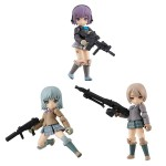 Desktop Army LittleArmory BOX of 3 MegaHouse