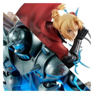 G.E.M Series Fullmetal Alchemist Precious Edward & Alphonse Elric Brothers Set MegaHouse Limited