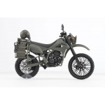 LittleArmory LM002 JGSDF Reconnaissance Motorcycle DX Ver. Tomytec