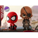 CosBaby Spider-Man (Far From Home) Size S Spider-Man And Nick Fury Set of 2 Hot Toys