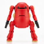 Simpler Mechatro WeGo Red Plastic Model Kit Sentinel